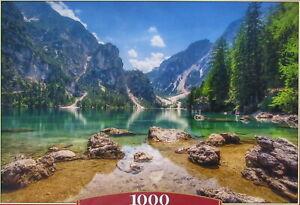 Castorland Heaven's Lake 1000 pc Jigsaw Puzzle Mountains Landscape