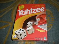 NEW MILTON BRADLEY YAHTZEE 1998 SEALED HASBRO