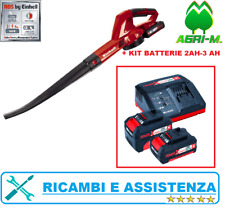 Soffiatore a batteria per foglie elettrico EINHELL GE- CL 18 Solo o Kit Batterie