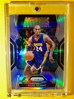 Kobe Bryant RARE REFRACTOR SILVER PANINI PRIZM DOMINANCE SPECIAL CARD - Mint!
