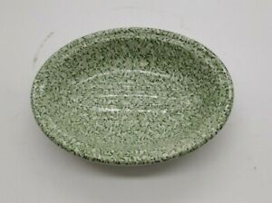 MASONS CRABTREE & EVELYN CERAMIC SOAP DISH Green Chintz Excellent