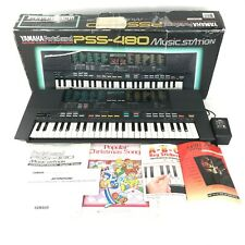 Yamaha Portasound PSS-480 Music Station Keyboard Digital Synthesizer & Extras