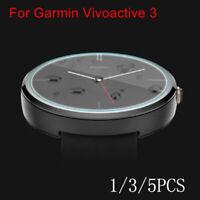 1/3/5pcs For Garmin Vivoactive 3 Smart Watch Tempered Glass Screen Protector 9H
