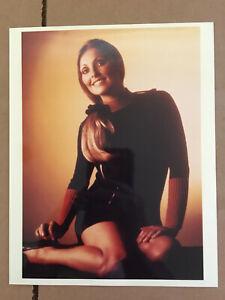 Sharon Tate COLOR  , original vintage press publicity headshot photo