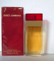 Dolce & Gabbana Pour Femme Woman Red Eau de Toilette 100ml 3.4 Fl.oz  New Foil