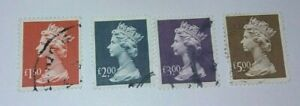 1999 High Value Definitives - Fine used