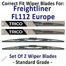 Wiper Blades 2-Pack Standard - fit 1996-1998 Freightliner FL112 Europe - 30240x2