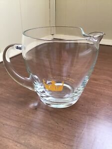 CHIVAS REAL CLEAR WATER PITCHER