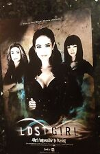 Lost Girl Double-Sided 12x18 Promo Poster - 2013 SDCC Comic Con - Anna Silk