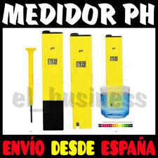 MEDIDOR DE PH CON PRECISION PANTALLA LCD DIGITAL PARA ACUARIO PISCINA AGUA