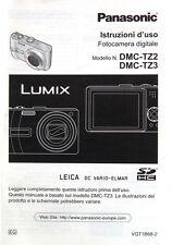 Panasonic Istruzioni d'uso DMC-TZ2 DMC-TZ3 italiano italian manual - (15065)