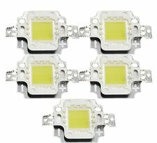 10Watt 10W High Power LED 900LM Bulb Cold White 6000-6500K Lamp Light 5pcs