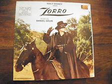 daniel Gélin raconte Zorro -  livre-disque disneyland n°  ST 3950 F