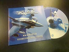 Rafale, new generation extended multirole fighter CD