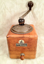 Mokka Mocca Coffee Grinder with  Wood Case Drawer Made in Austria