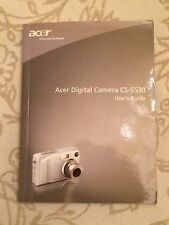 ACER Digital Camera CS-5530 User Manual - En / Fr / De / It / Es