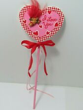 Troll Doll Russ Valentine Day Anniversary Cupid i love You gift flower 14 inch