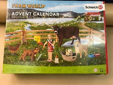 Schleich -  Farm Life Advent Calendar - With Animals, Dog, Chicken, Cow & Puppy