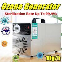 10G/H Ozone Generator Air Purifier Sterilizer Ozonizer Smoke Ioniser Cleaner  AU