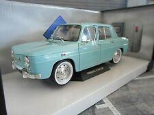 RENAULT 8 Major hell blau türkis blue Limousine France 1964 NEU Solido 1:18