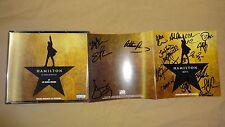 New 19-20 x Signed CD Hamilton Broadway Musical Lin Manuel Cast Soo Diggs Groff