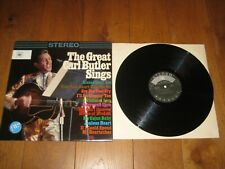 Carl Butler LP. The great Carl Butler sings (4585)
