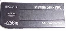 Sony 256 MB MEMORY STICK PRO Card - (MSX-256) Magic Gate VECCHIO LUNGO
