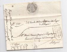 AA940-STATO PONTIFICIO-COMANDO AUSTRIACO DI BOLOGNA 1835