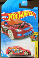 🔥 2021 Hot Wheels Audacious Red HW Art Cars Case D New VHTF