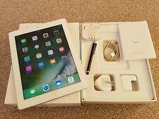 GRADE-A* iPad 4th Gen-16GB, Wi-Fi+4G (Unlocked),9.7in Retina display-White+Extra