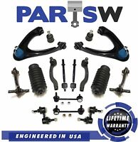 18 Pc Suspension Kit for Honda CR-V 1997-2001 All Models Control Arms Tie Rods