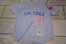Chicago Cubs Jersey. Sammy Sosa # 21. Mitchell and Ness. Size 3XL. Used