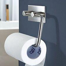Steel Toilet Kitchen Roll Paper Holder Tissue Storage Wall Mount Bath Organizer