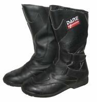 """"""" DANE """" Herren- Motorradstiefel / Biker - Stiefel / Boots in schwarz ca. 43,5"""