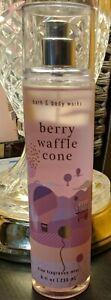 Bath & Body Works Berry Waffle Cone Fine Fragrance Mist 8oz