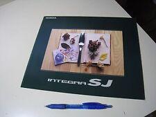 HONDA INTEGRA SJ Japanese Brochure 1996/02 E-EK3 D15B