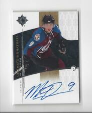 2009-10 Ultimate Collection Signatures Matt Duchene Rookie AUTOGRAPH Avalanche