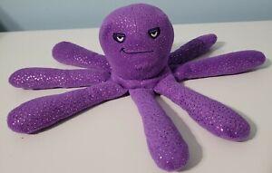 Rare HTF Toy Story 3 Stretch Purple Octopus Plush Disney Store Exclusive
