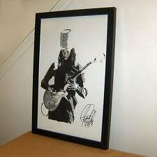 Buckethead, Guns N' Roses, Lead Guitar, Progressive Metal, 11x17 PRINT w/COA 4