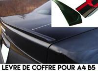 SPOILER COFFRE BECQUET LAME AILERON LEVRE pour AUDI A4 B5 1994-2000 SLINE S4 RS