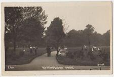 Ravenscourt Park, London, Johns 2511 RP Postcard B823