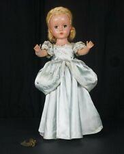 """Vintage Margaret Face Madame Alexander 14"""" Cinderella 1950 with dress tag"""