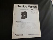 Original Service Manual Panasonic RQ-V175