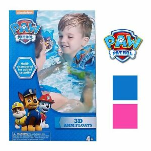 Paw Patrol Inflatable Arm Floats (Skye/Pink)