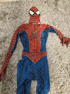 Spider-Man Jumpsuit Cosplay  Costume Bodysuit Spiderman Size M Adult