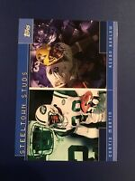 2001 Topps #TC4 CURTIS MARTIN Jets / KEVIN BARLOW Rookie Steeltown Studs