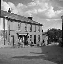 B/W 6x6 Negative St Erth Cornwall Village Scene Shop Warren 1950 +Copyright Z925