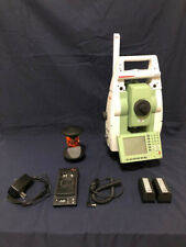 "Leica Tcrp 1203 R300 3"" Robotic Total Station With Rh17 Handle and Leica Prism"