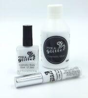 GLITTER TATTOO GLUE - COSMETIC BODY ART ADHESIVE - Long lasting & skin safe