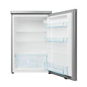 MEDION MD 13854 Kühlschrank silber 85cm 127 Liter 112kWh 3 Glaseinlegeböden F